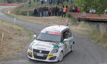 Efrén Llarena gana la Copa Suzuki Swift en el 49 Rallye de Ourense
