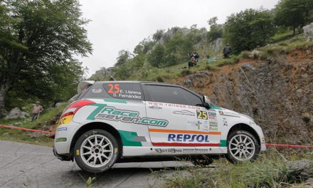 Efrén Llarena gana la Copa Suzuki Swift en el 37 Rallye Santander Cantabria