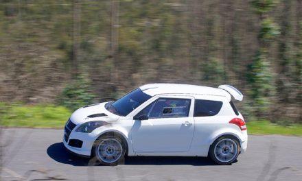 El nuevo Suzuki Swift R+ presentado en el 49 Rallye de Ourense