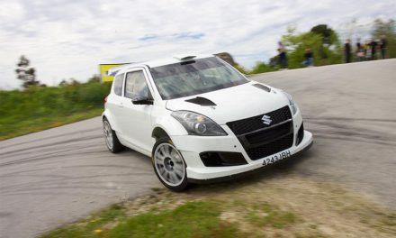 El Suzuki Swift R+ debutará en competición en el 49 Rallye de Ourense