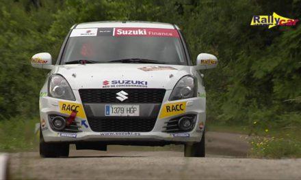 Video resumen Copa Suzuki Swift en el 49 Rallye de Ourense