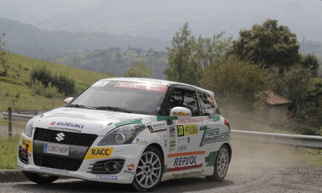 Efrén Llarena, gana la Copa Suzuki Swift en el 40 Rallye de Llanes