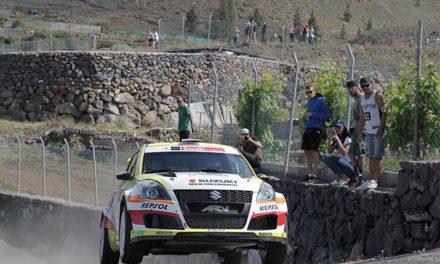 27 Rallye Villa de Adeje, Suzuki líder de marcas