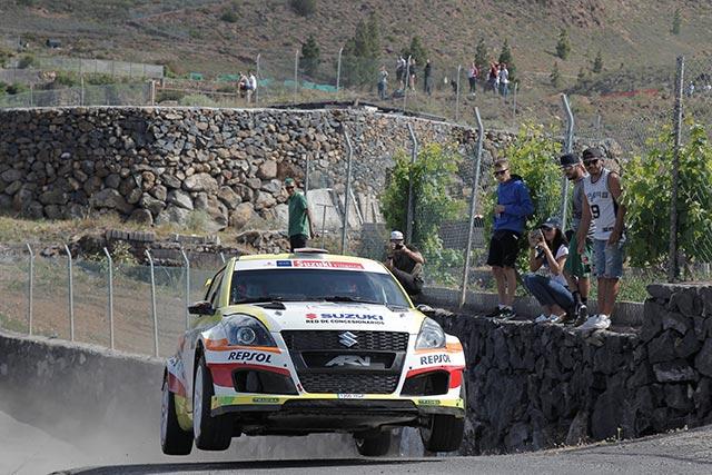 El equipo Suzuki-Repsol en el 50 Rallye de Ourense