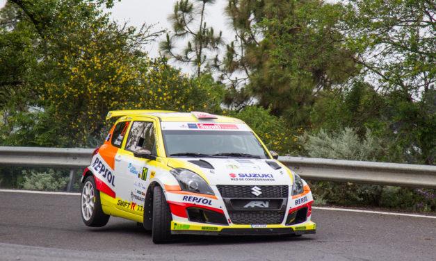41 Rally Islas Canarias, Suzuki más líder