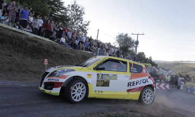 Suzuki y Adrián Díaz, líderes en marcas y 2RM tras el 50 Rallye de Ourense.