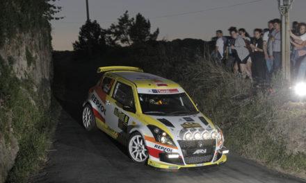 El equipo Suzuki-Repsol, al completo en el 48 Rallye de Ferrol