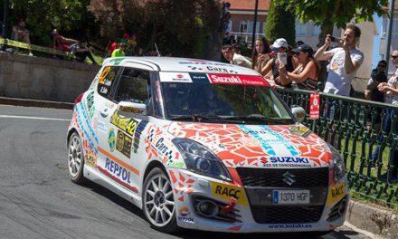 David Cortés se lleva la Copa Suzuki Swift en el 50 Rallye de Ourense
