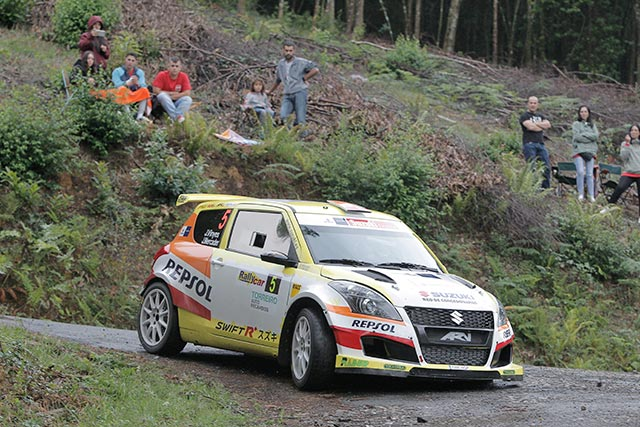 El equipo Suzuki-Repsol vuelve a la competición en el 54º Rallye Princesa de Asturias