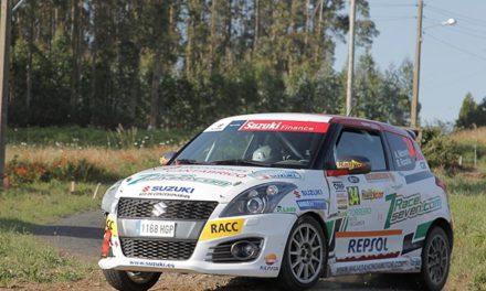 Alberto Monarri gana la Copa Suzuki Swift en el 48 Rallye de Ferrol