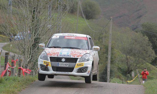 David Cortés, gana la Copa Suzuki Swift en el 38 Rallye Santander Cantabria
