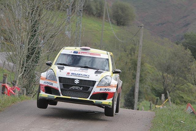 23 Rallye La Nucía, el equipo Suzuki-Repsol al completo