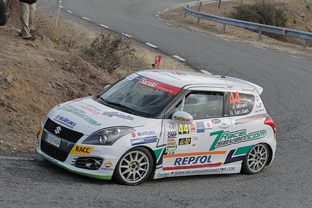 14 inscritos en la Copa Suzuki Swift 2018