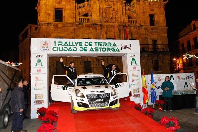 Victoria de Alexey Lukyanuk y Hugo Magalhães en el I Rallye de Tierra de Astorga