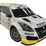 Alexey Lukyanuk de tests con el Suzuki Swift R+