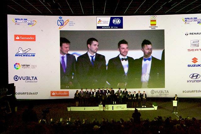 Gala Campeones RFEDA 2017