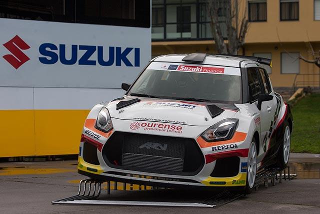 El Equipo Suzuki de estreno en el Rallye Sierra Morena