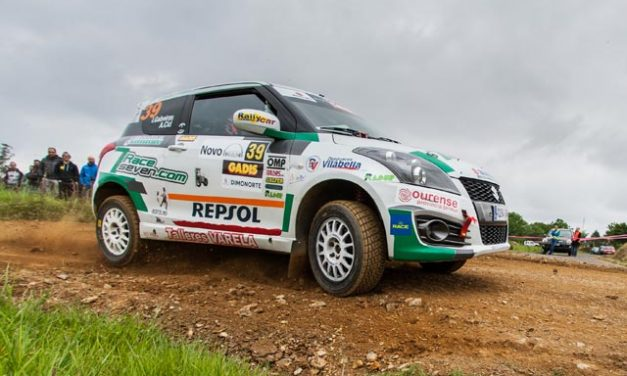 Rally Terra da Auga, victoria para Iago Gabeiras en la Copa Suzuki Swift Junior