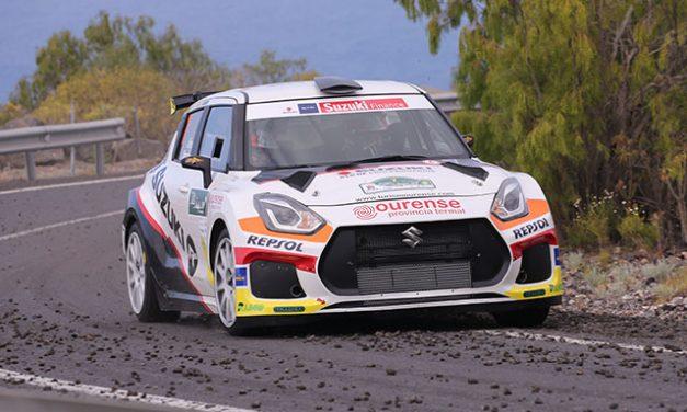 El Equipo Suzuki al completo en el 49 Rallye de Ferrol