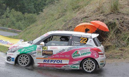 Alfredo Tamés domina la Copa Suzuki Swift en el 51 Rallye de Ourense