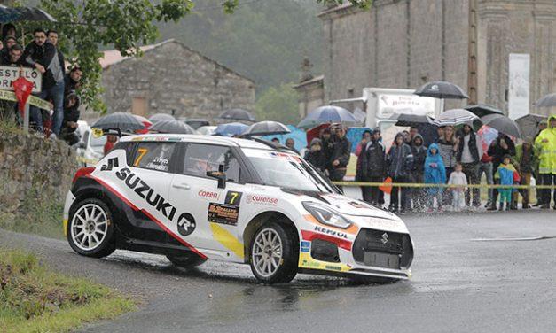Joan Vinyes y Jordi Mercader, terceros en el 51 Rallye de Ourense