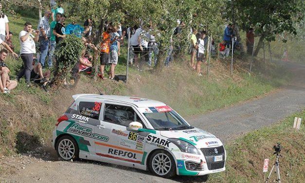 Victoria de Daniel Berdomás en la Copa Suzuki Swift en el 49 Rallye de Ferrol