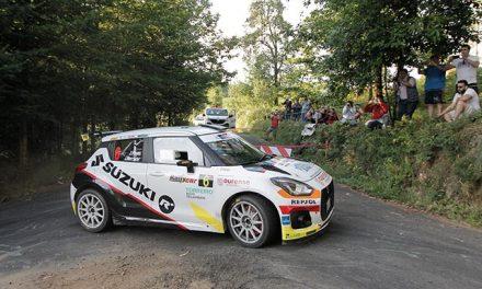 Los Suzuki Swift R+ dominan la categoría N5 en el 49 Rallye de Ferrol