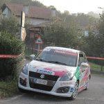 Dominio absoluto de Fredy Tamés en la Copa Suzuki Swift dentro del 42 Rallye de Llanes