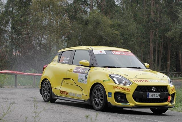 Prueba dinámica del Suzuki Swift Sport Copa 2019