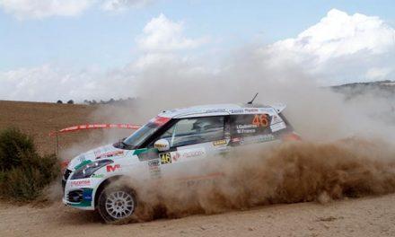 Victoria de Iago Gabeiras en el Rallye Ciutat de Cervera en la Copa Suzuki Swift Junior