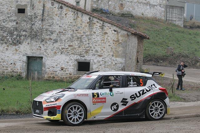 Nuevo doblete de Suzuki entre los N5 en 39 Rallye Blendio Santander