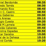 Aviso 12.18 Rallye Comunidad de Madrid RACE
