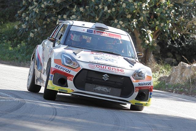 Joan Vinyes y Jordi Mercader, cuartos absolutos en el 24 Rallye La Nucía.