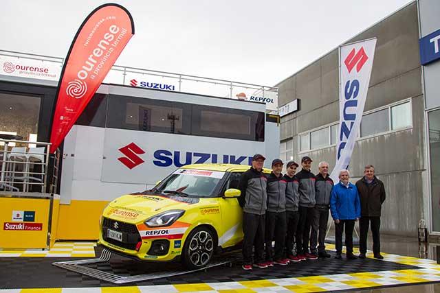 El equipo Suzuki rumbo al 37 Rallye Sierra Morena
