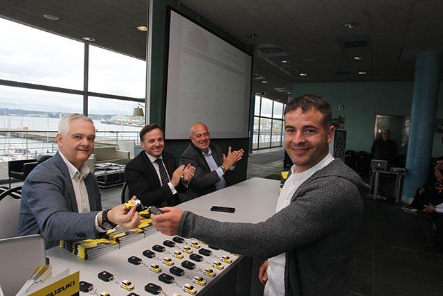 Disponible la galería de fotos de la entrega de los coches de la Copa Suzuki Swift 2019
