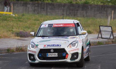 Nueva victoria de Oscar Sarabia en la Copa Suzuki Swift en el 24 Rali do Cocido