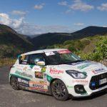 Oscar Sarabia gana la Copa Suzuki Swift en el 52 Rallye de Ourense