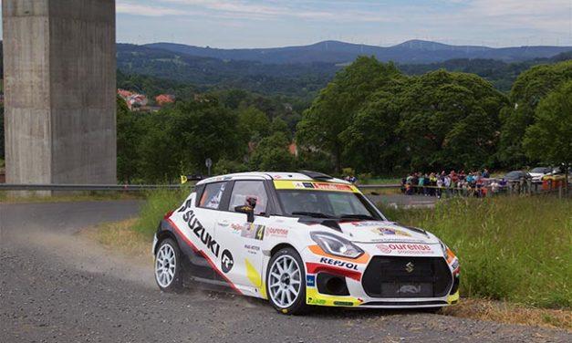 El 50 Rallye de Ferrol cierra la primera parte de la temporada del Equipo Suzuki