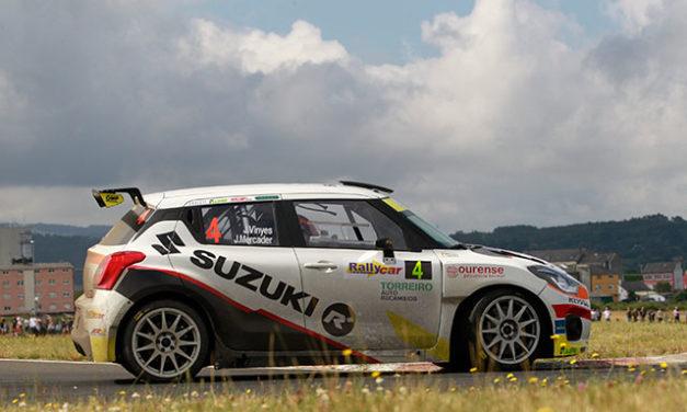 Joan Vinyes y Jordi Mercader, quintos en el 50 Rallye de Ferrol