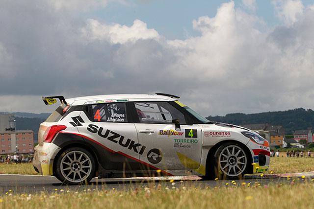 El Equipo Suzuki reanuda su actividad en el 56 Rally Princesa de Asturias