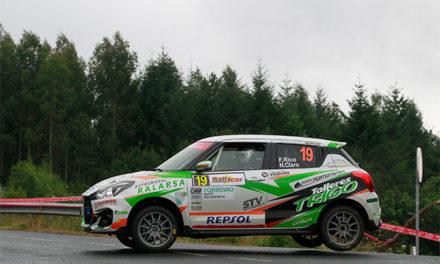 Fernando Rico gana la Copa Suzuki Swift en el 50 Rallye de Ferrol