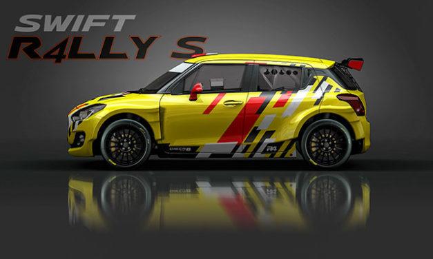 Primeras imágenes del Suzuki Swift R4LLY S