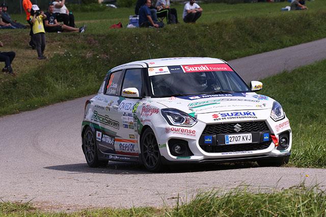 Oscar Sarabia gana la Copa Suzuki Swift en el 56 Rally Princesa de Asturias.