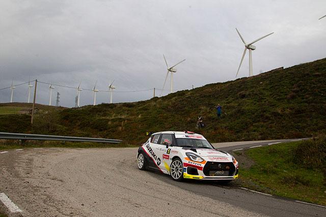 Javier Pardo y Adrián Pérez cuartos en el 40 Rallye Blendio Santander Cantabria
