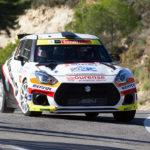 Podium de Suzuki entre los N5 en el 25 Rallye La Nucía
