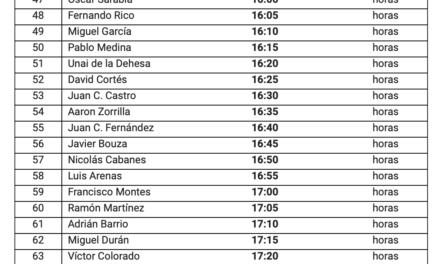 Aviso 20.19 IMPORTANTE Rallye Comunidad de Madrid RACE