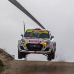 Javier Pardo y Adrián Pérez en el top 10 del 33 Rallye Serras de Fafe