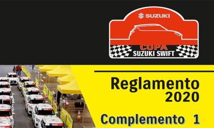 Aviso 03.20 Complemento 1 al Reglamento Deportivo de la Copa Suzuki Swift 2020
