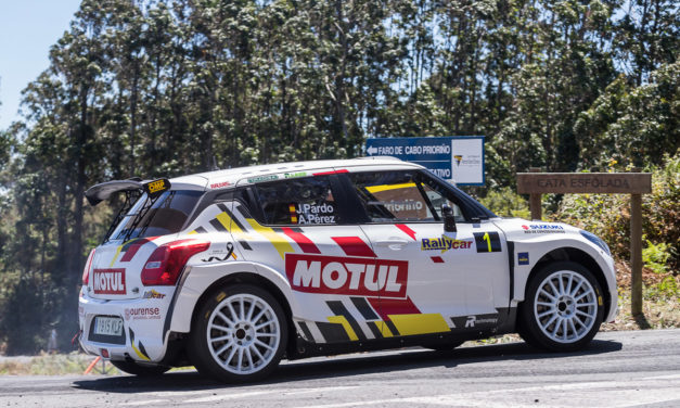 Disponible la galería de fotos de los tests previos al Rallye de Ourense