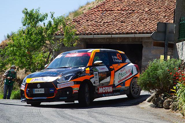 Diego Félix gana la Copa Suzuki Swift en el 53 Rallye de Ourense